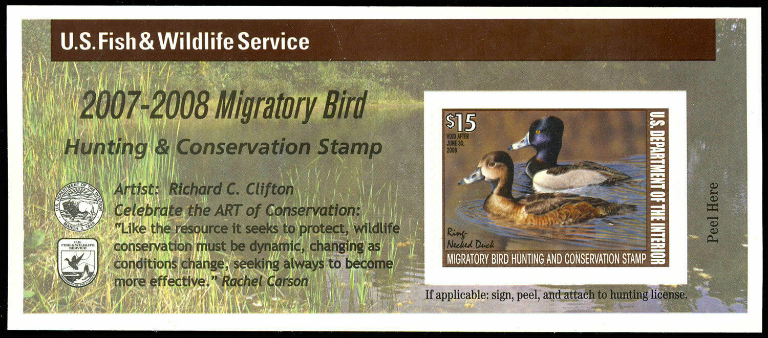 2007-2008 Federal Duck Stamp