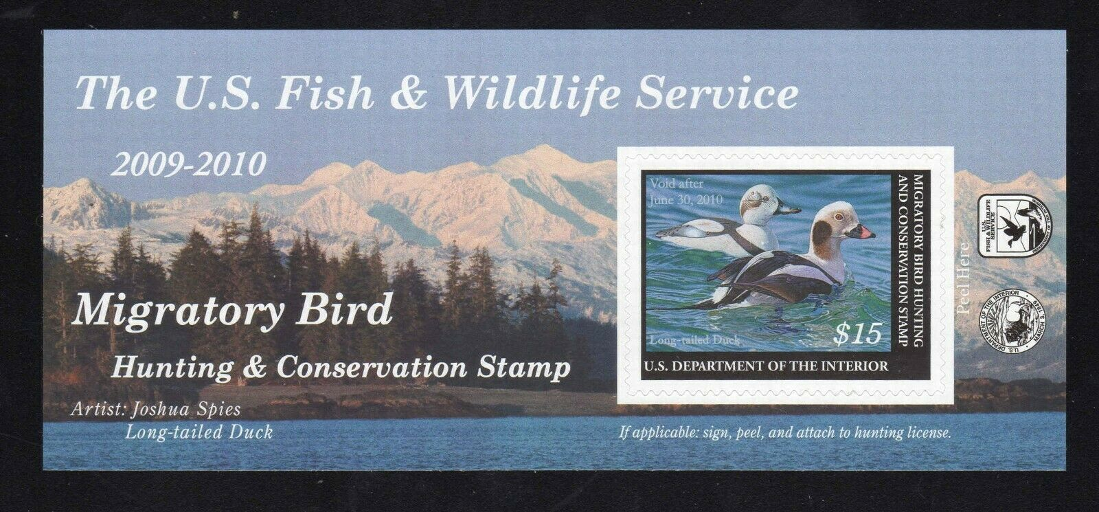 2009-2010 Federal Duck Stamp
