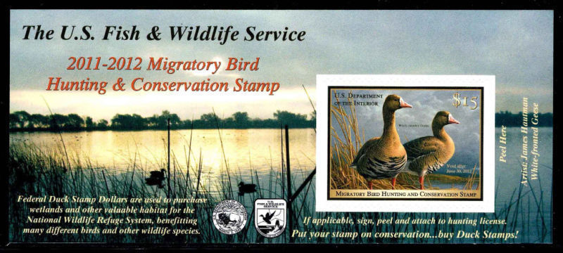 2011-2012 Federal Duck Stamp