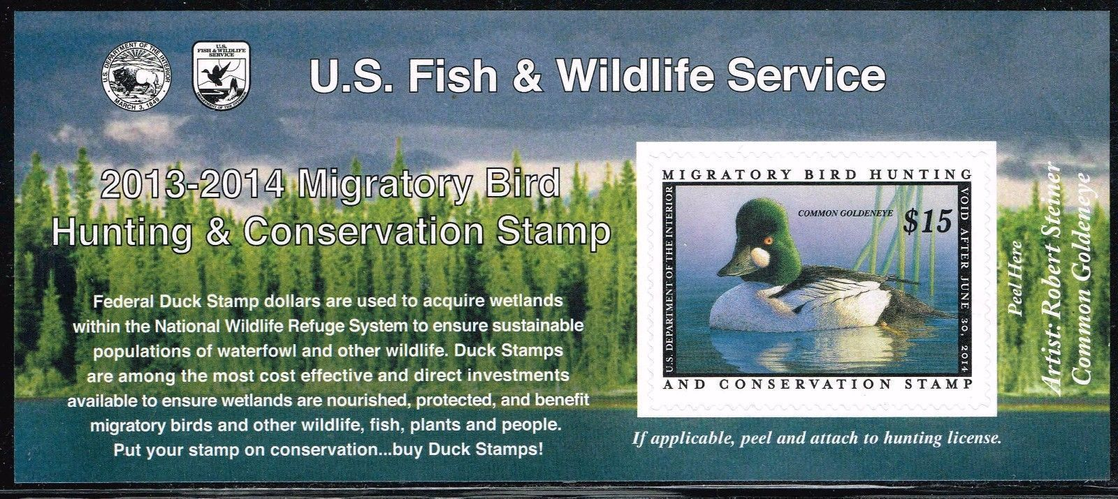 2013-2014 Federal Duck Stamp